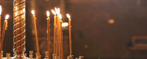 Live Events Stock Media - Candles in Orthodox Church