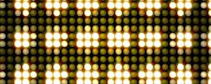 Live Events Stock Media - Pulsing Golden Yellow LEDs Pattern