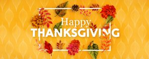 Live Events Stock Media - Colors of Fall Happy Thanksgiving Still