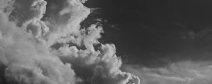 Live Events Stock Media - Towering Clouds BW