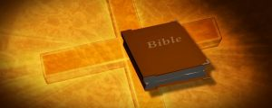Live Events Stock Media - Bible On Cross Background