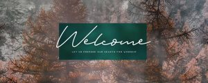 Live Events Stock Media - Deep Autumn Welcome Still