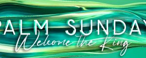 Live Events Stock Media - Gradient Paint Palm Sunday