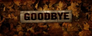 Live Events Stock Media - Burlap Leaves - Goodbye