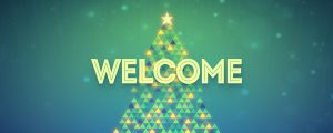 Live Events Stock Media - Christmas Lights Welcome Still