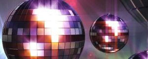 Live Events Stock Media - Shiny 3D Disco Balls With Lens Flare