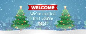 Live Events Stock Media - Christmas Village Welcome