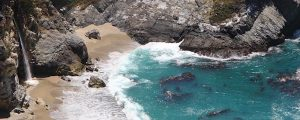 Live Events Stock Media - McWay Falls on the Big Sur Coast Loop