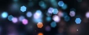 Live Events Stock Media - Bokeh Hexagon Particles