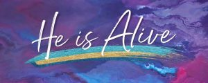 Live Events Stock Media - Painted Easter He Is Alive