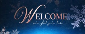 Live Events Stock Media - Christmas Snowflakes Welcome