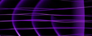 Live Events Stock Media - Frequency Abstract Loop - Ultra Violet