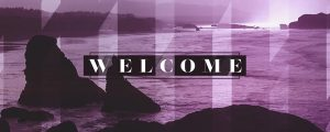Live Events Stock Media - Ocean Shore Welcome Still