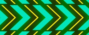 Live Events Stock Media - Neon Yellow & Green Arrow Patterns