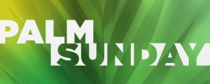 Live Events Stock Media - Radiant Blur Palm Sunday Title