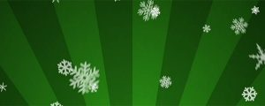 Live Events Stock Media - Ornamental Snow on Green Radial Loop