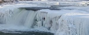 Live Events Stock Media - Frozen Lower Cataract Falls Loop