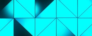 Live Events Stock Media - Glowing Blue Triangle Patterns 2