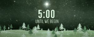 Live Events Stock Media - Christmas Forest Green Countdown