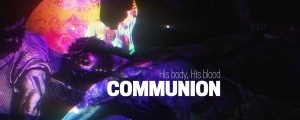 Live Events Stock Media - Holy Week Art Communion Still