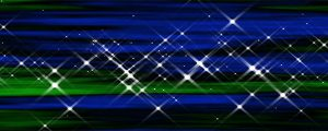 Live Events Stock Media - Starburst Emerald-Cobalt Abstract