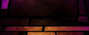 Live Events Stock Media - Stained Glass Rhomboid