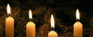 Live Events Stock Media - Row of Christmas Candles loop