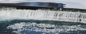 Live Events Stock Media - Swirling Icy Waterfall