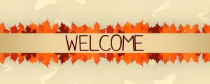 Live Events Stock Media - Thanksgiving Leaves Welcome
