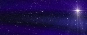 Live Events Stock Media - Bethlehem Star Midnight Blue Sky Loop