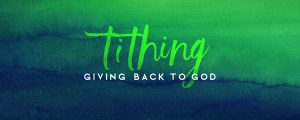Live Events Stock Media - Watercolor Contrast Tithing Still