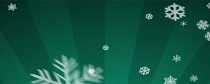Live Events Stock Media - Ornamental Snow on Teal Radiant Loop