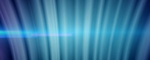 Live Events Stock Media - Digital Curtain Blue Curve