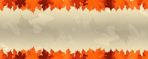 Live Events Stock Media - Thanksgiving Leaves Blank