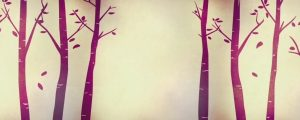 Live Events Stock Media - Fall Birch Trees Purple 02
