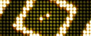 Live Events Stock Media - Concentric Square Glowing LEDs