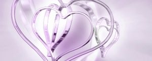 Live Events Stock Media - Spinning Pink & Purple Metallic Hearts