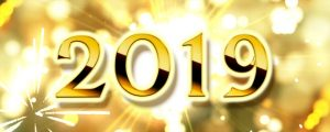 Live Events Stock Media - Golden Happy New Year 2019