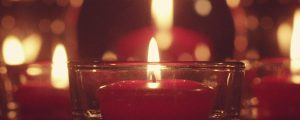 Live Events Stock Media - Red Candles Still