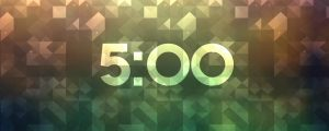 Live Events Stock Media - Refracted Light Countdown