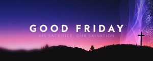 Live Events Stock Media - Holy Week Glow Good Friday Still
