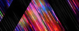 Live Events Stock Media - Rainbow Triangles Strobe Alt Still