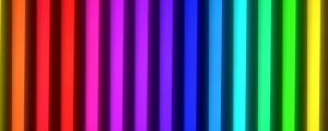 Live Events Stock Media - Rainbow Neon Tubes Animations