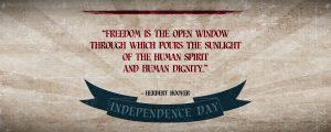 Live Events Stock Media - Vintage Independence Day Quotes