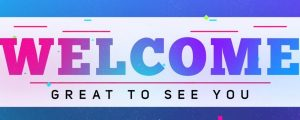 Live Events Stock Media - Colorful Graduation Welcome