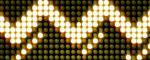 Live Events Stock Media - Golden LED Arrows