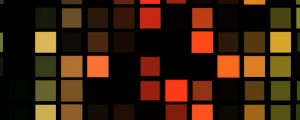 Live Events Stock Media - Colorful Square Grid Pattern