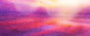 Live Events Stock Media - Watercolor Cross Sunrise