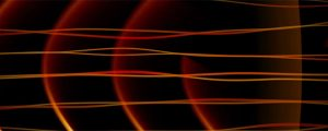 Live Events Stock Media - Frequency Abstract Loop - Orange Glow