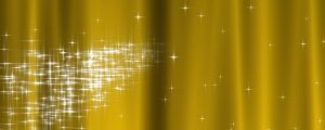 Live Events Stock Media - Starry Curtain Loop - Golden